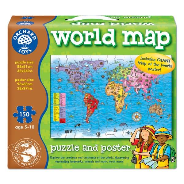 World map jigsaw wooden toys salty dog emporium gumiabroncs Images
